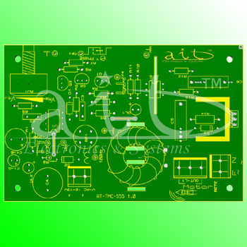 AT-TMC-555 / PCB Render 3D
