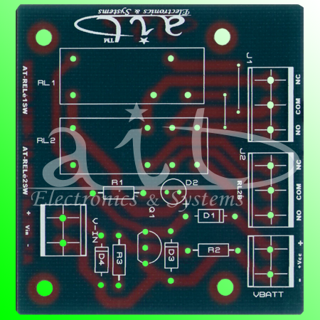 AT-RELE2SW / PCB